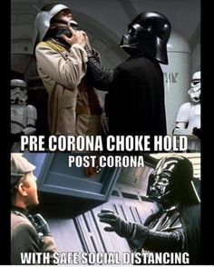 "We've curated a selection of "" 18 Funniest Corona Memes for You to Look Through "" because these will make you more fun. Discover more hilarious memes here. Funny Shit, Stupid Funny Memes, Funny Relatable Memes, Hilarious, Funny Stuff, Star Wars Witze, Star Wars Jokes, Star Wars Film, Memes Humor"