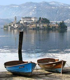 Lago d'Orta – Isola di San Giulio , Italy