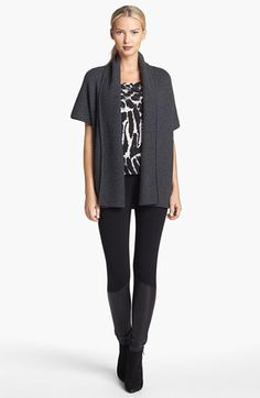 St. John Collection Shawl Collar Cashmere Knit Cardigan available at #Nordstrom  Love St John!