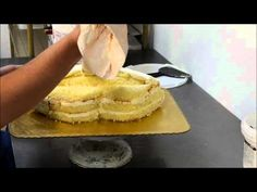 Making a Red Hot Lips shape cake - Tutorial video - YouTube