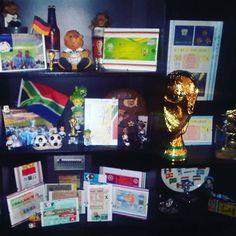 Mi coleccion de entradas a los diferentes mundiales.. desde #uruguay1930 a #brasil2014  #mundialesdefutbol #futbolmundial #futbol #seleccionargentina