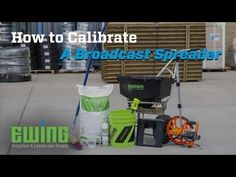 Do you calibrate your broadcast spreaders? It's a good idea to ensure you're applying the proper amount of fertilizer to your sites. In this video, Troy Smith, outlines all the steps you need to calibrate your spreaders: Lawn Turf, Landscaping Supplies, Irrigation, How To Apply, Outlines, Troy, Electric