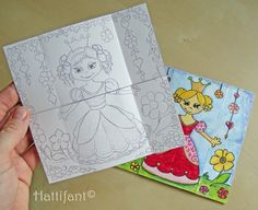 Hattifant's Endless Princesses Card - Hattifant