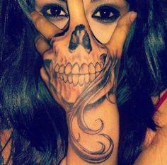 #tattoo #skull