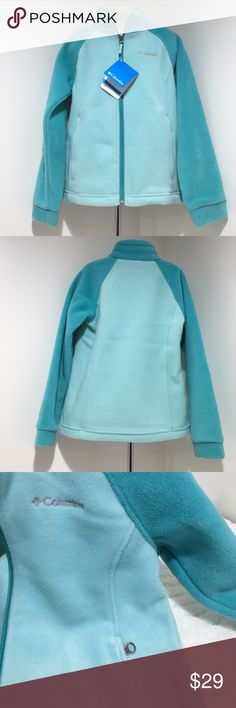 NWT Girls S(7/8) Columbia Fleece Jacket NWT Three Lakes Full Zip Fleece Youth Small (7/8) Comes from a smoke & pet free home thanks for visiting my closet HAPPY POSHING💖 Columbia Jackets & Coats