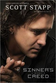 Sinner's Creed by Scott Stapp #emptyshelf  Insightful look at the struggles of a young boy abandoned then abused who expressed his pent-up emotions through poetic lyrics and rock and roll. Though not a complete parallel, I relate to parts of his story.....Read more of my review here: https://www.goodreads.com/book/show/14330834-sinner-s-creed
