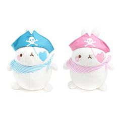 Molang Pirate SET 25cm 10in Soft Plush Doll Korea Cute Bunny Rabbit Character…