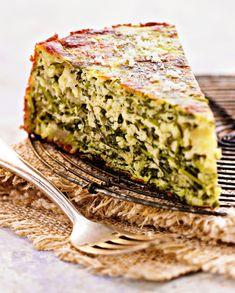 Gâteau de roquette à la mozzarella