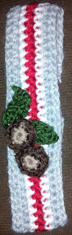 Ohio state Buckeyes crochet headband