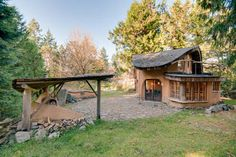 Check out this awesome listing on Airbnb: Unique Cob Cottage in Mayne Island