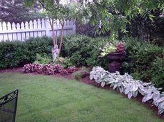 landscaping idea for backyard corner by bettye