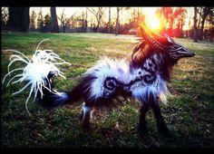 Poseable Fantasy Dream Walker Wolf by *Wood-Splitter-Lee on deviantART