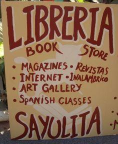 Libreria Sayulita--A bookstore in Sayulita Mexico