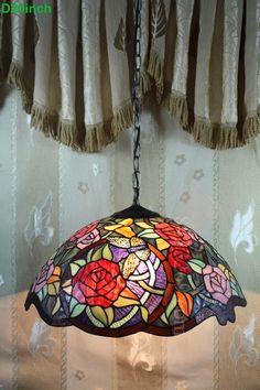 Rose Tiffany Lamp  20S0-255P11