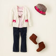 baby girl - outfits - baby rocks - cat's meow | Children's Clothing | Kids Clothes | The Children's Place