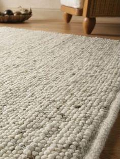 Webteppich aus reiner Schurwolle