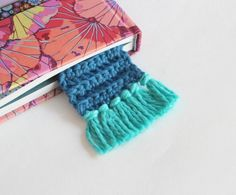 Tassel Bookmark You can make this fun bookmark without wasting precious reading time! It would make a great gift for the bookworm in your life.