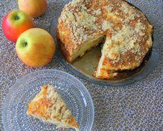 KOTONA: Omena-rahkakakku Something Sweet, French Toast, Food And Drink, Bread, Breakfast, Desserts, Recipes, Koti, Notebook