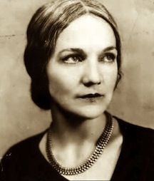 """""""A novel is really like a symphony, where instrument after instrument has to come in at it's own time."""" - Katherine Anne Porter - b. May 15, 1890"""