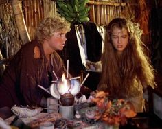 """Christopher Atkins and Brooke Shields in """"The Blue Lagoon,"""" 1980."""