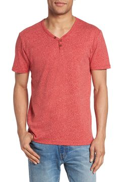 New Lucky Brand Y-Neck Henley T-Shirt ,BLACK MOUNTAIN fashion online. [$49.5]top10shopping top<<