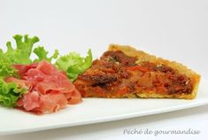 Tarte chorizo, poivrons, tomates de Jamie Oliver