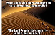 Jesus Star Wars reference- brilliant!