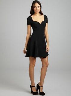 "Rebecca Minkoff ""Catwoman"" Dress in Black"