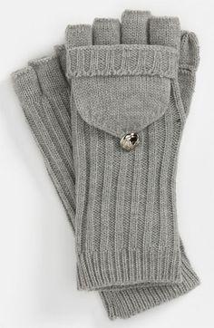 Convertible Mittens // Michael Kors #cozy