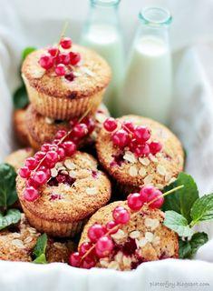 Plate of Joy: Zdrowe muffinki z owocami