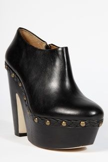 Urban Outfitters - Deena & Ozzy Studded Black Clog Boots - StyleSays