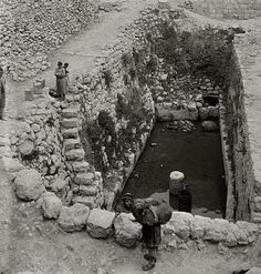 Pool of Siloam, Jerusalem