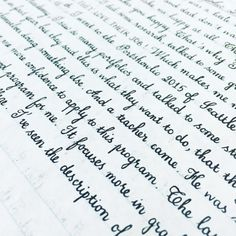 25 Examples of Perfect Handwriting That'll Make You Green With Envy
