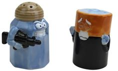 Big Mouth Toys Assault/Battery Salt and Pepper Shakers  <HA!>