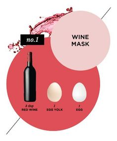 Homemade Face Mask No. 15: Anti-Aging Wine Mask