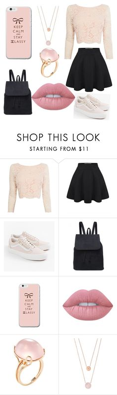 """""""classy"""" by magcon8813 ❤ liked on Polyvore featuring Coast, Vans, Lime Crime, Goshwara and Michael Kors"""