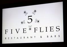 Five Flies: Cape Town Restaurants