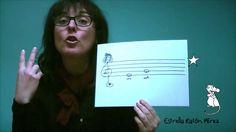 Conte infantil: Sol Mi La Do (pentagrama, clau de sol, notes musicals) d...