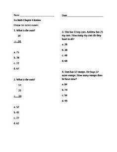 go math workbook grade 2
