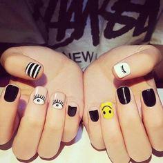 Discover the 10 most popular nail polish colors of all time! - My Nails Cute Nail Art Designs, Punk Nails, Disney Nails, Nagel Gel, Perfect Nails, Nail Polish Colors, Toe Nails, Coffin Nails, Short Nails