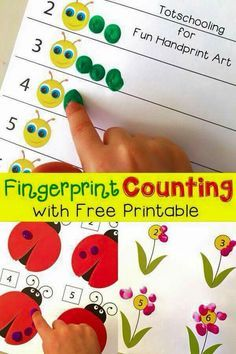 Cr : http://funhandprintartblog.com/2015/03/fingerprint-counting-printables-for-spring.html