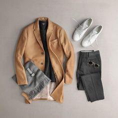 Coat: Banana Republic Sweater: Vince Pants: NN07 Shoes:...