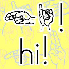 American Sign Language Fonts