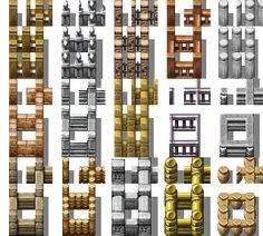 RPG Maker VX - Fences Autotiles by Ayene-chan.deviantart.com on @deviantART