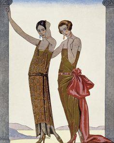 From Gazette du Bon Ton, 1922