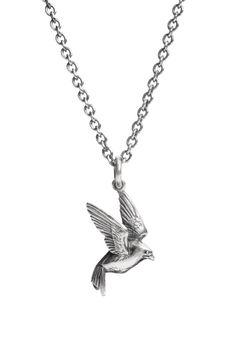 swallow necklace in sterling silver. Designer Silver Jewellery, Silver Jewelry, Swallow, Craft Fairs, Arts And Crafts, Jewels, Sterling Silver, Multipurpose Furniture, Prints