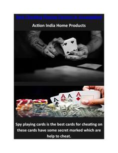 Best Cheating Playing Devices in Aurangabad  http://www.spycards.co.in/spy-playing-cards-in-aurangabad.html Get the various spy cheating playing cards devices in Aurangabad India for playing the all gambling games. We provide these spy playing cards with 100% original products and 1 year replacement guarantee.