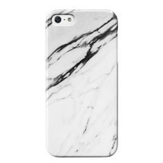 White Marble Phone Case!! Gimme**