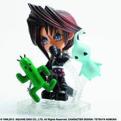 Kirin Hobby : Final Fantasy Trading Arts Kai Mini: Squall Figure Square Enix 662248811697