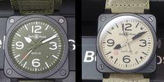 Los relojes militares de #Bell&Ross: fotos en vivo y precios